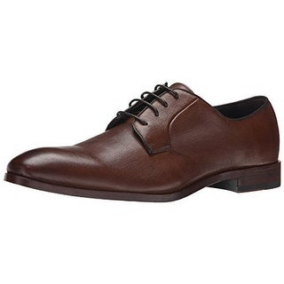 Gordon Rush Mens Hutton Leather Textured Derby Shoes - 9.5 medium (d)