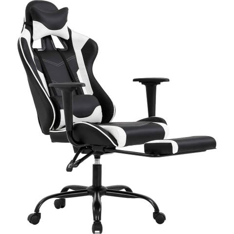 """Adjustable PU Office Chair Gaming Chair - 53.5"""" x 26.4"""" x 17.7"""""""
