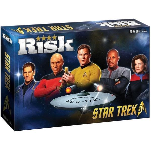 Star Trek 50th Anniversary RISK Board Game - multi