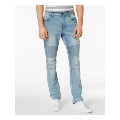 AMERICAN RAG Mens Light Blue Stretch Jeans W30/ L30 - W30/ L30