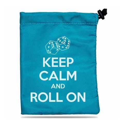 Ultra Pro Treasure Nest - Keep Calm and Roll on Dice Bag - multi