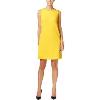 Tommy Hilfiger Womens Casual Dress Textured Side Pockets - 12