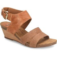 Sofft Womens Velden Open Toe Casual Platform Sandals