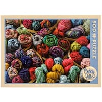 "Jigsaw Puzzle 500 Pieces 10""X14""-Balls Of Yarn"