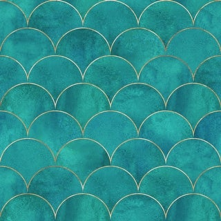 Link to Ocean Waves Removable Wallpaper - 10'ft H x 24''inch W Similar Items in Wall Coverings