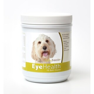 Healthy Breeds Labradoodle Dog Eye Care Support Soft Chews 75 Count