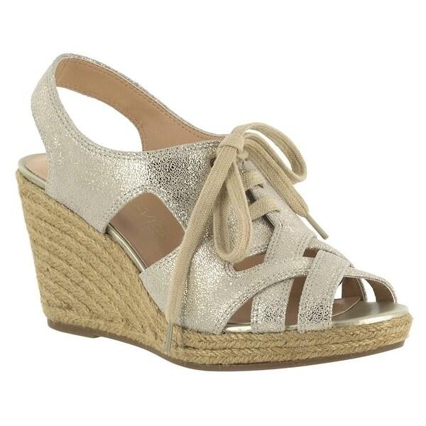 Bella Vita Womens Gracia Leather Open Toe Casual Platform Sandals
