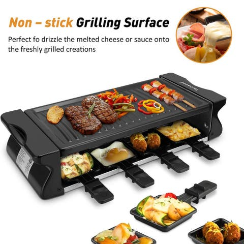 Electric Raclette Grill Raclette Party Grill Adjustable Temperature