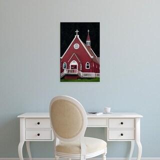 Easy Art Prints Michel Hersen's 'St Peter's Episcopal Church' Premium Canvas Art