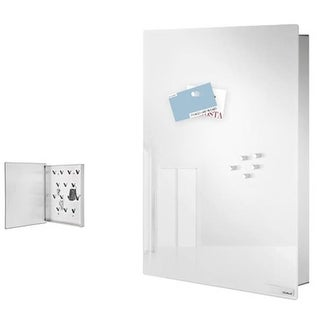 Blomus 65366 Glass magnet board, White, Lg - VELIO