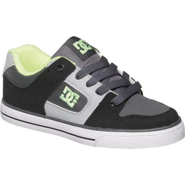 54eedb1cc00af Shop DC Shoes Boys  Pure Black Grey Yellow - Free Shipping On Orders ...