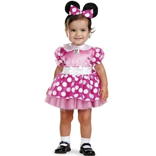 Disguise Mickey Mouse Clubhouse Pink Minnie Mouse Toddler Costume
