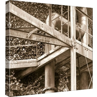 """PTM Images 9-97714  PTM Canvas Collection 12"""" x 12"""" - """"Gas Works 3"""" Giclee Botanical Art Print on Canvas"""