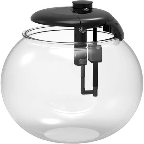 Penn-Plax AquaSphere Bowl-Shaped Aquarium with with fully intergrated filtration system and LED Light Display (10 Gallon)