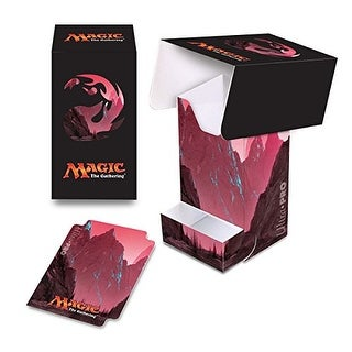 Ultra Pro Mana 5 Unhinged Mountain Full View Deck Box with Tray for Magic