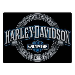 "Harley-Davidson Irreplaceable H-D Embossed Tin Sign, 17 x 12.5 inches 2011361 - 17"" x 12.5"""