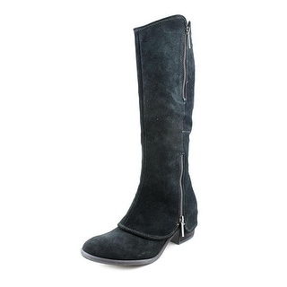 Donald J Pliner Devi3 Round Toe Suede Knee High Boot