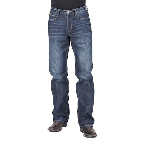 Tin Haul Western Jeans Mens Regular Joe Fit Blue