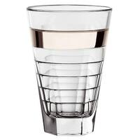 Majestic Gifts E64430 Hiball Glass With Platinum Band