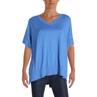Diane Von Furstenberg Womens Honey Pullover Sweater Silk Blend V-Neck (2 options available)