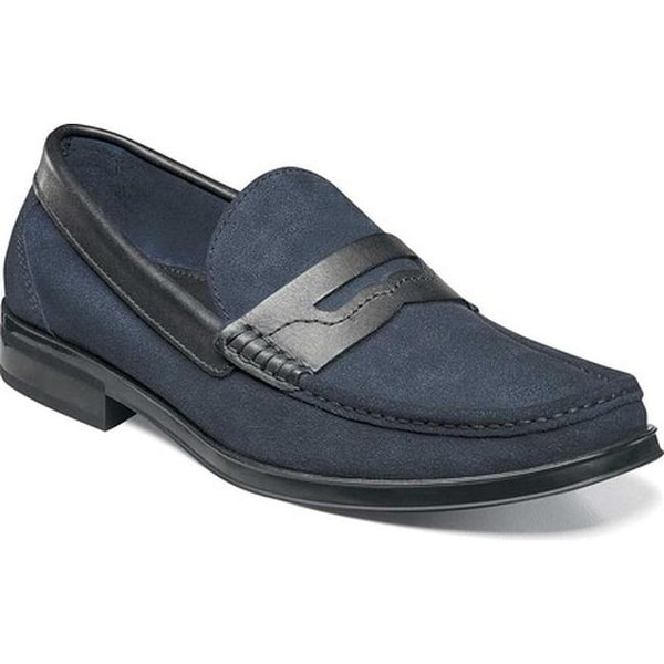 17435524565 Shop Florsheim Men s Westbrooke Penny Loafer Navy Multi Leather - Free  Shipping Today - Overstock - 13790674