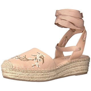 Nanette Lepore Womens Beatriz Fabric Round Toe Casual Espadrille Sandals (More options available)