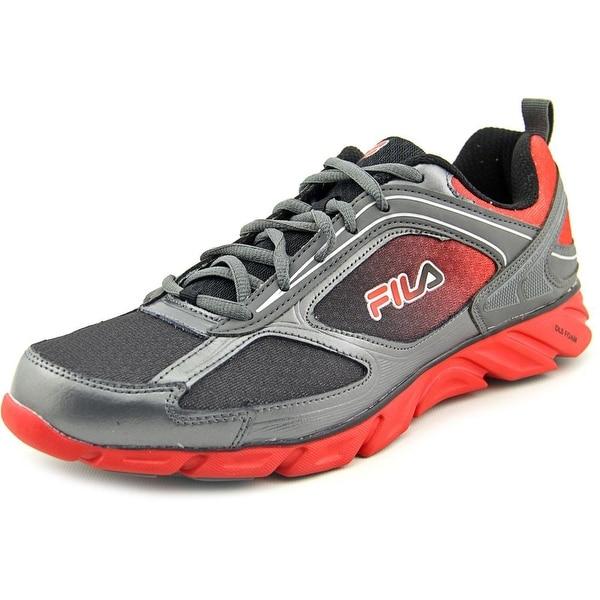 Fila Stride 3 Round Toe Canvas Running Shoe