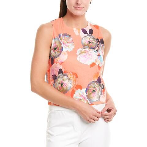 Nicolle Miller Artelier Linen-Blend Top