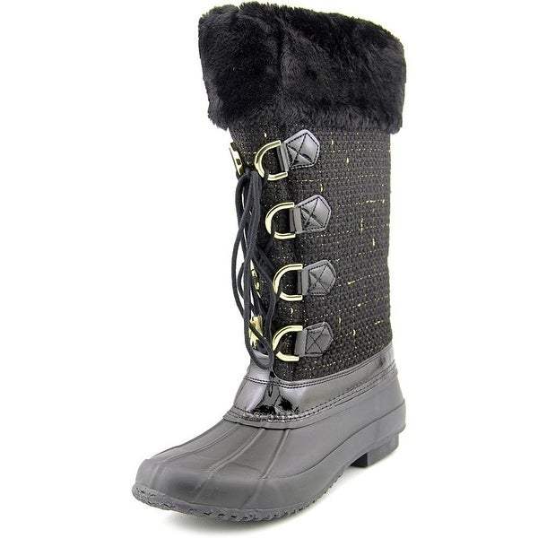 INC International Concepts Womens Lorinah Fabric Closed Toe Mid-Calf Cold Wea...