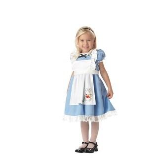 Child Lil' Alice in Wonderland Toddler Costume
