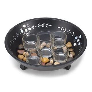 Decorative Candle Bowl Set