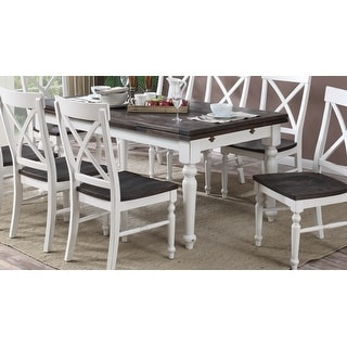 Link to The Gray Barn Crooked Cottage Extension Dinette Table - Antique White Similar Items in Dining Room & Bar Furniture