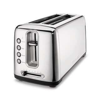 Cuisinart CPT-2400 The Bakery Artisan Bread Toaster, Chrome