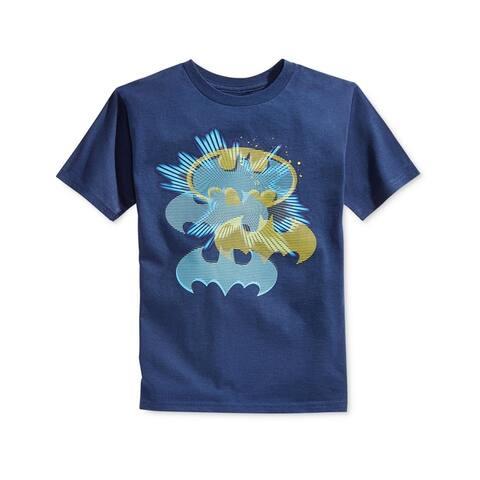Warner Brothers Boys Batman Flashy Shield Graphic T-Shirt - 4