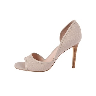 Charles by Charles David Womens INTAKE Canvas Open Toe D-orsay Pumps