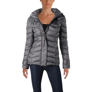 French Connection Womens Puffer Coat Winter Water Repellent