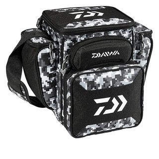 "Daiwa D-Vec Tactical Med Soft Sided Tackle Box 9""x13""x14"" - DTTB-60"