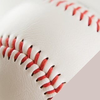 """American Crafts Sport Double-Sided Cardstock 12""""X12""""-Baseball Photo"""