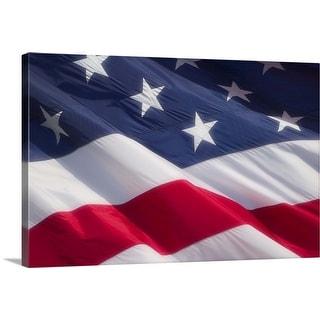 """The American Flag"" Canvas Wall Art"