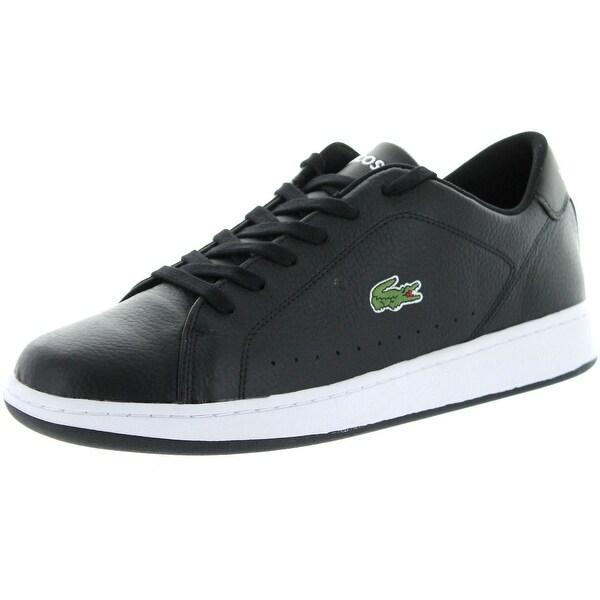 fb5be2fbe703 Lacoste Mens Carnaby Lcr Casual Fashion Sneakers - Black Black - 11.5 d(m