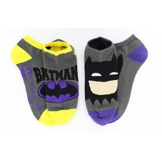 Batman Ankle Socks 2-Pack - gray