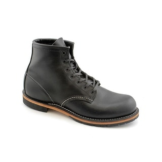 "Red Wing Shoes 6"" Beckman Men Round Toe Leather Black Boot"