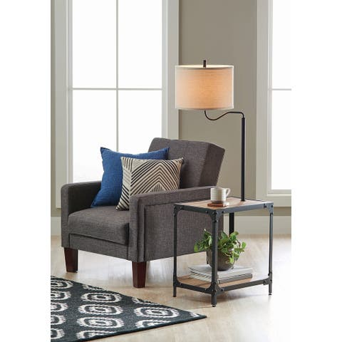 End Table Floor Lamp