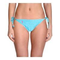 Polo Ralph Lauren Womens Ruffled Beaded Swim Bottom Separates