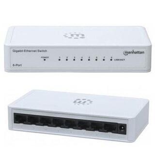 Manhattan 8-Port Gigabit Ethernet Switch (560705)