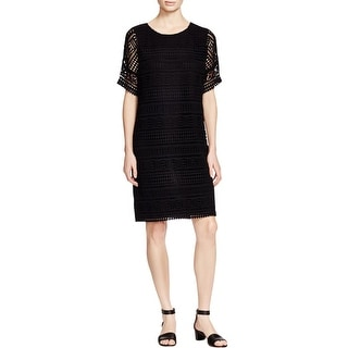 Vince Womens Casual Dress Cotton Lace