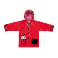 Kidorable Toddler/Little Kid Ladybug Raincoat - Red - 2t
