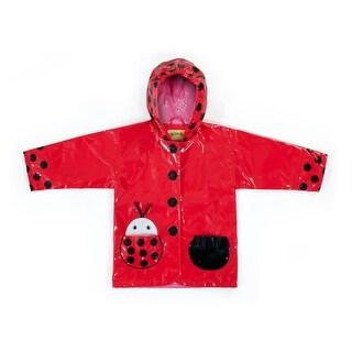 Kidorable Toddler/Little Kid Ladybug Raincoat - Red - 2t