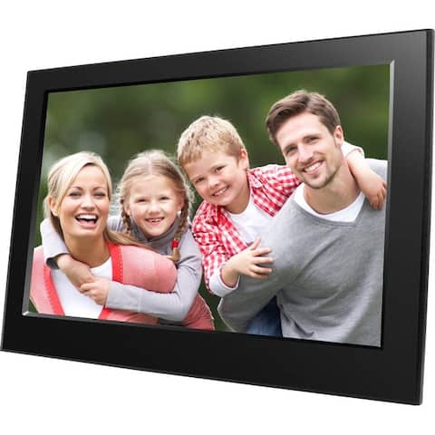 Naxa nf900 9 digital photo frame - Black