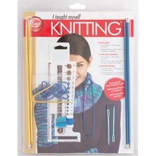 Beginners Knit Kit Boye Book Needle Pair Holders Tapestry Stitch